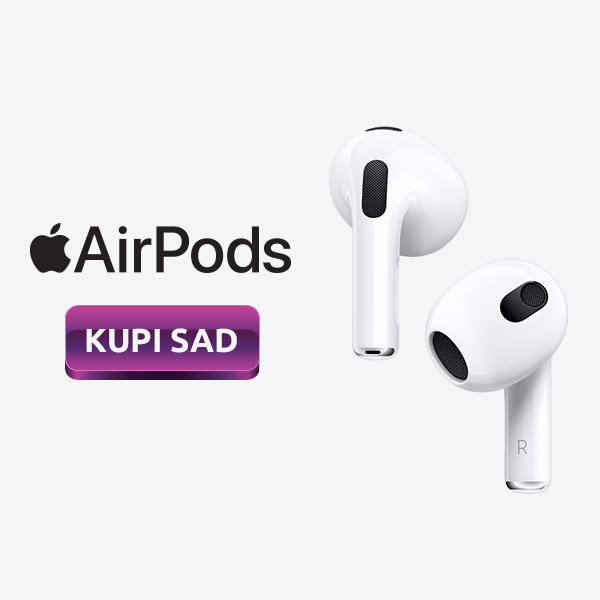 AirPods 3. generacije