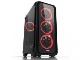 Stolno računalo HGPC Gamer Battleship 361, AMD Ryzen 5 3600, GTX1660, 16 GB, SSD 240 GB NVMe, 1 TB, FreeDOS (R53616616SNHD)